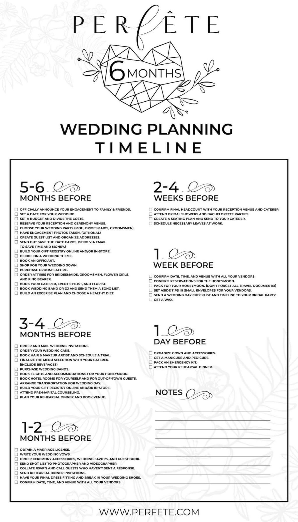 Wedding Planning Checklist Portgambleweddings Printable Uk