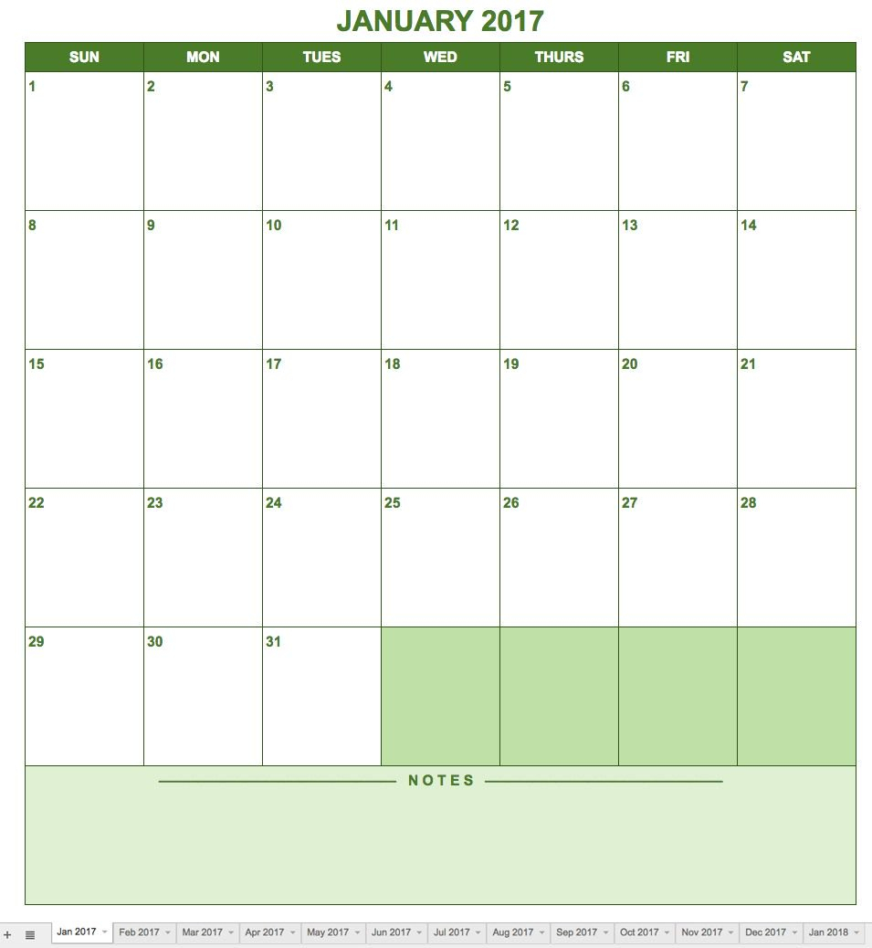 Weekly Calendar Sheets Google Template Blank Word | Smorad