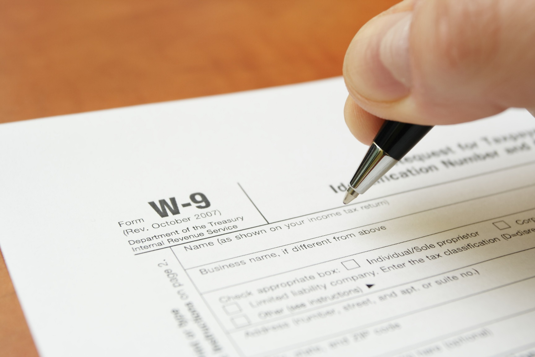 What Is A W-9 Tax Form? | H&r Block