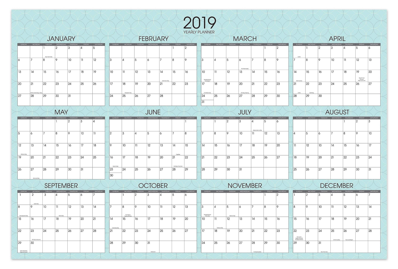 Yearly Calendar Templatevertex42 Archives - Bi