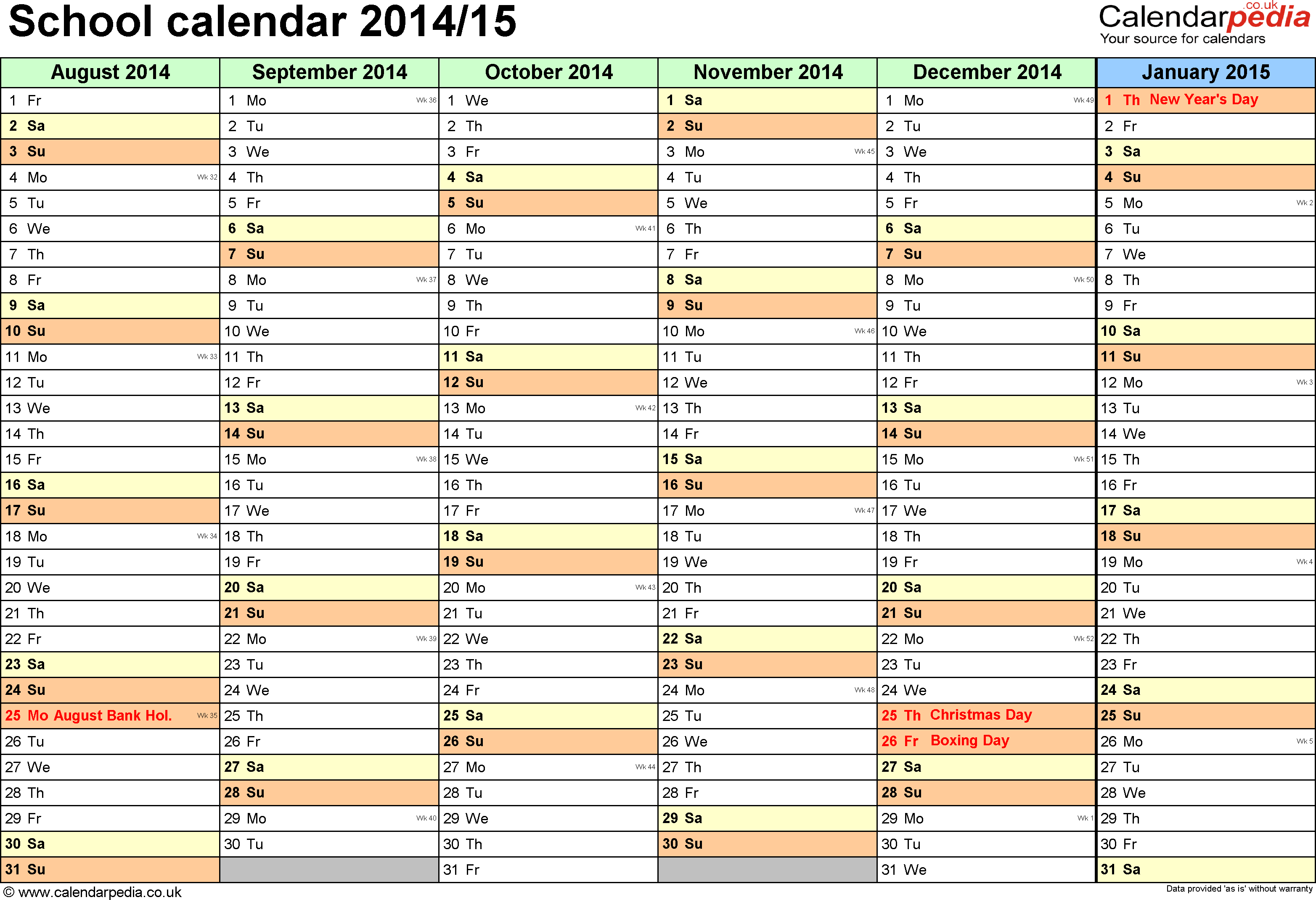 018 Weekly School Schedule Template Word Ideas Calendar Rare