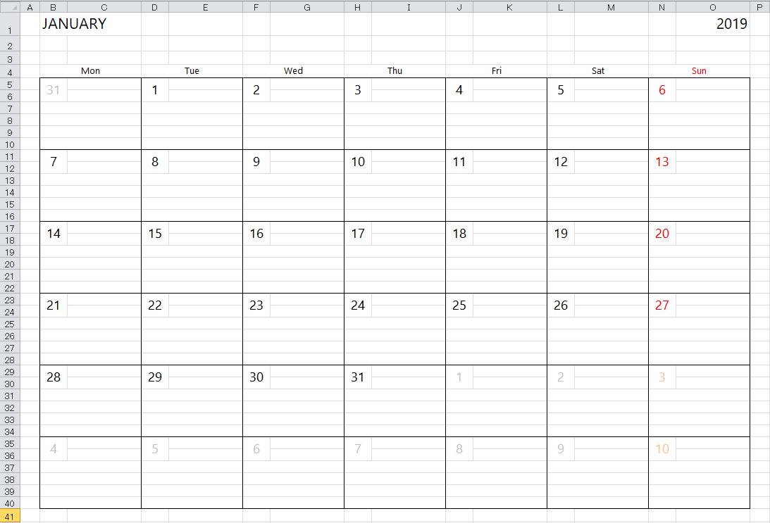 019 Template Ideas Weekly Calendar Excel Img Excelcalendar