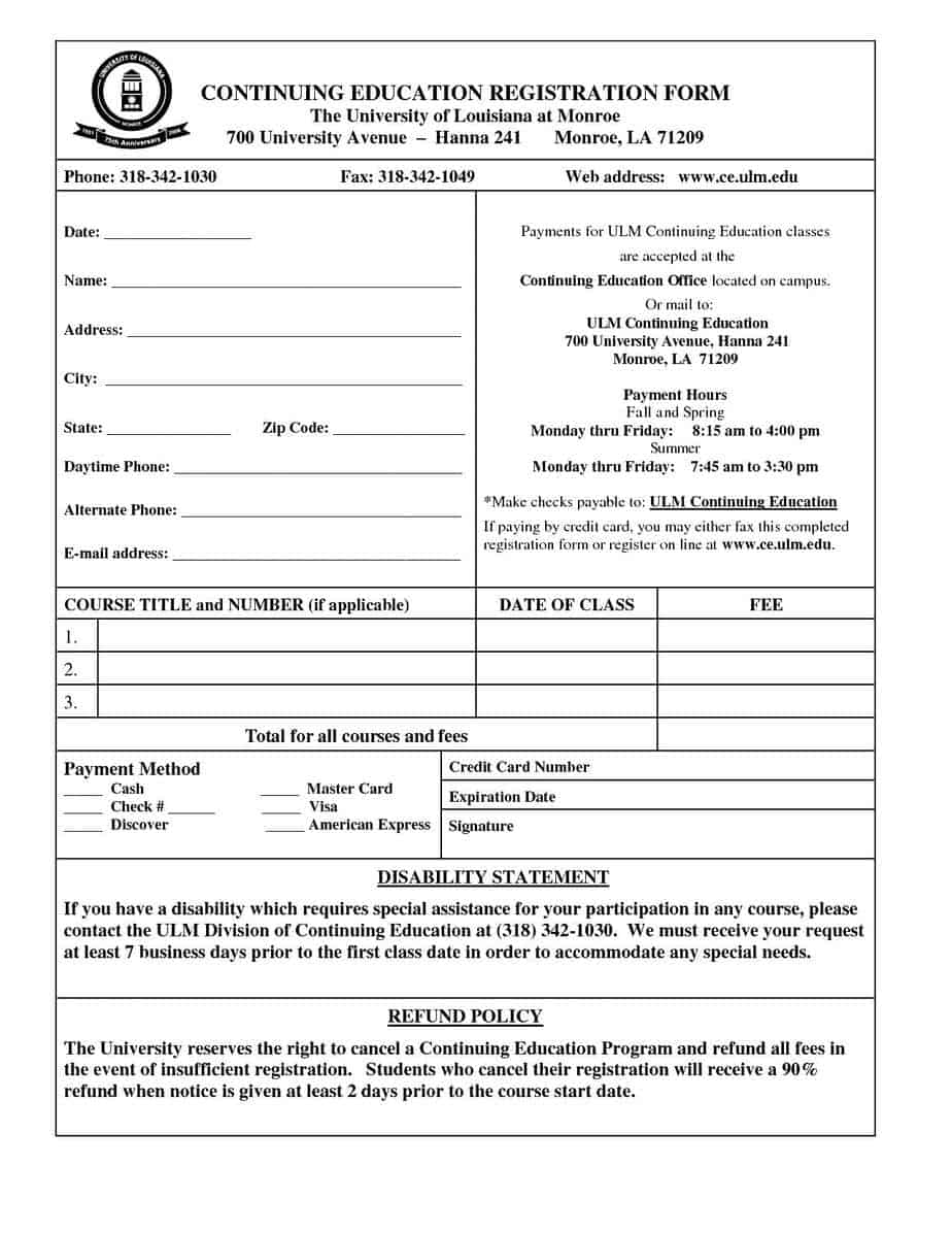 020 Event Registration Form Template Ideas Forms Stupendous
