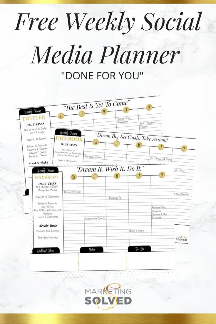 023 Social Media Posting Schedule Template Unique Ideas