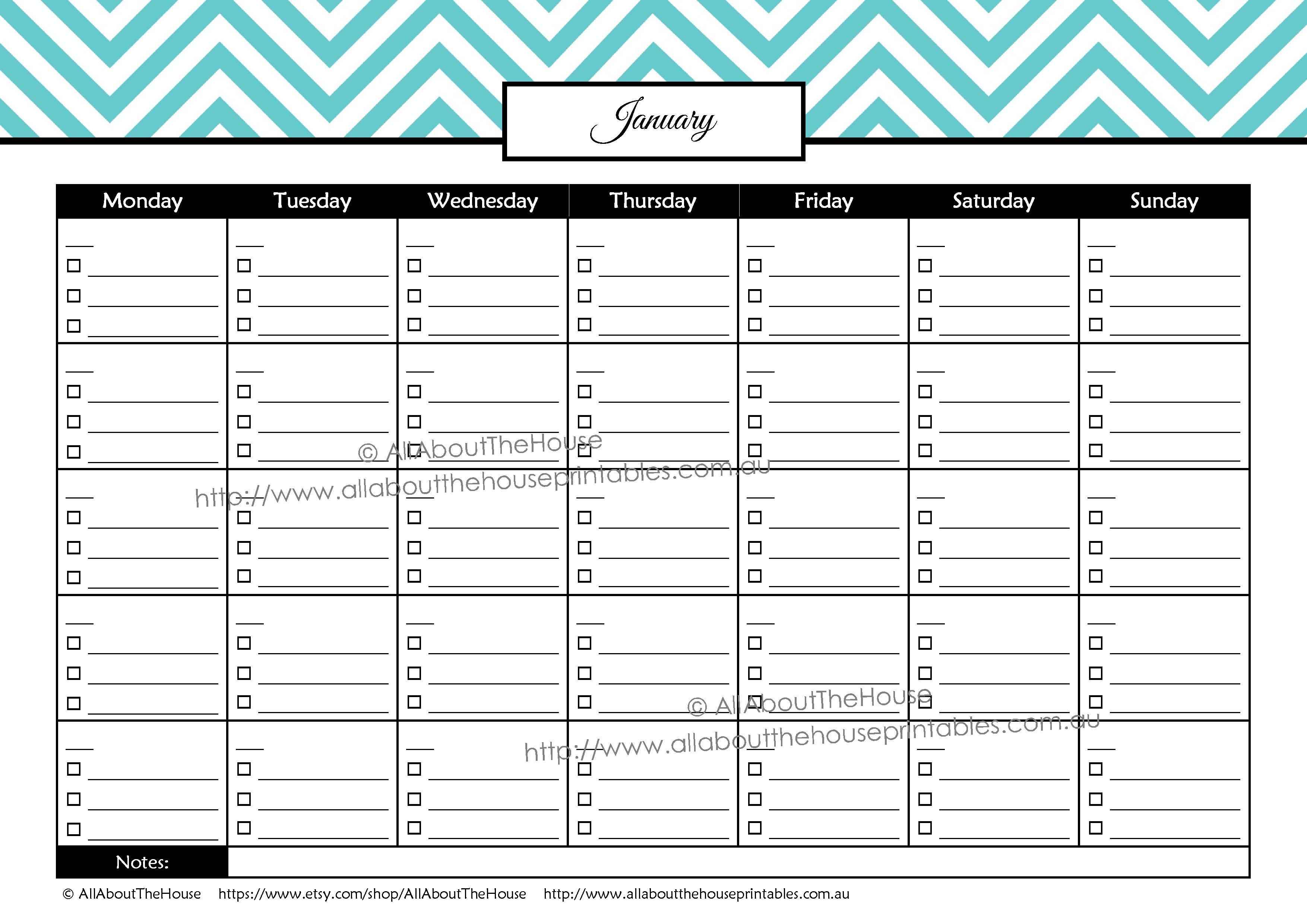 026 Template Ideas Paid Bill Payment Calendar Checklist