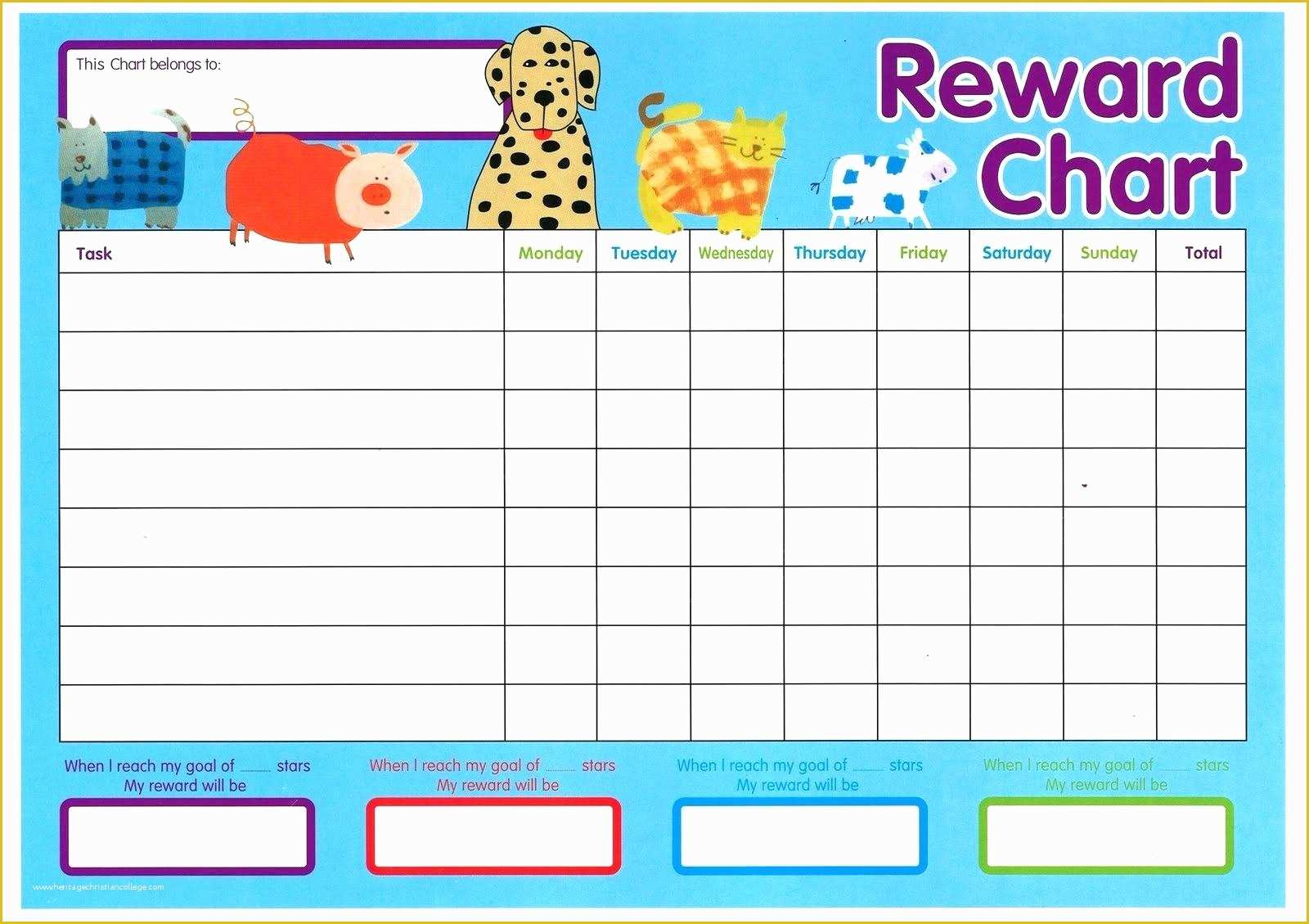 036 Weekly Behavior Chart Template Ideas Free Of Monthly For