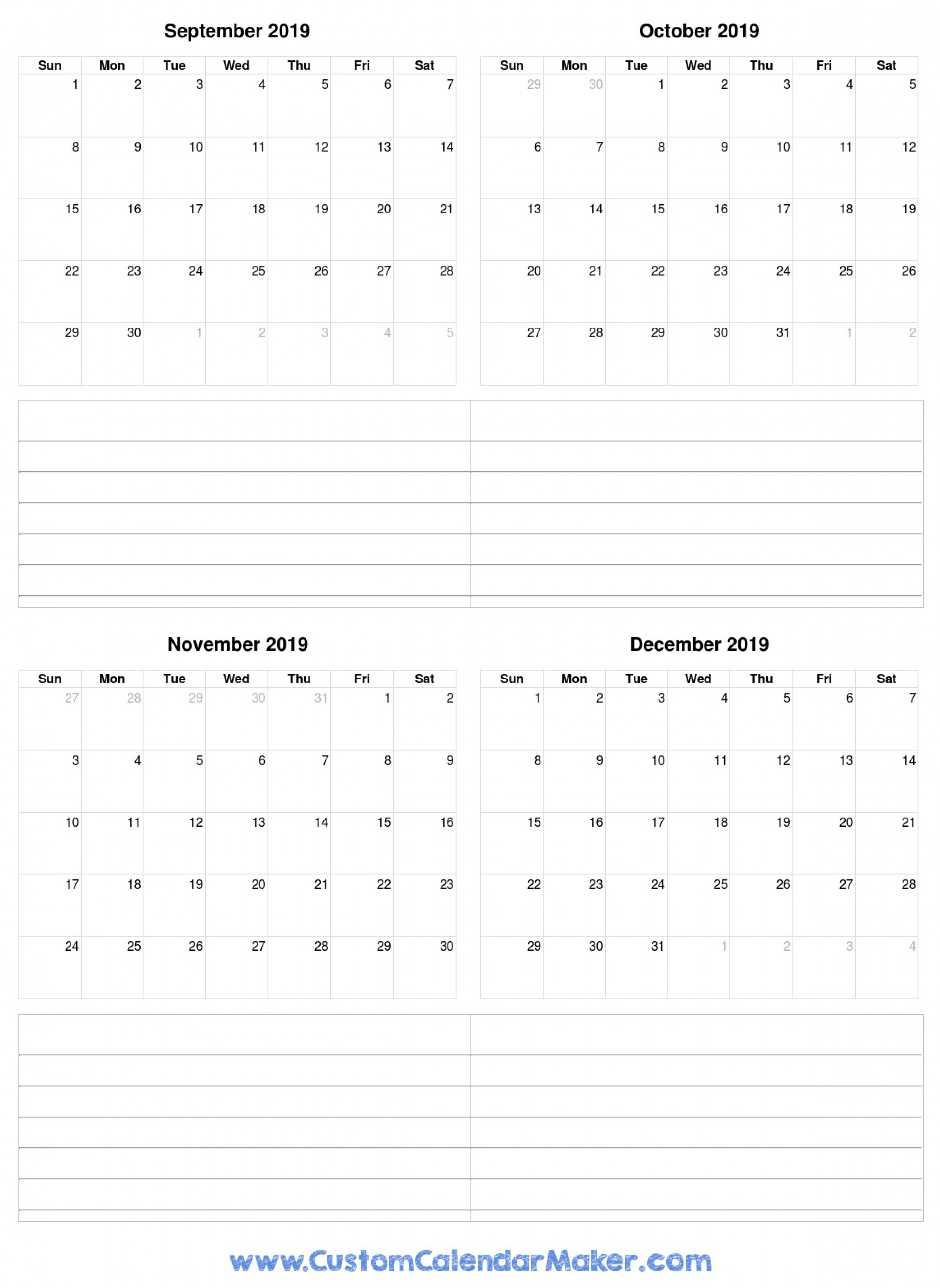 039 Template Ideas Printable Fill In Calendar September Free