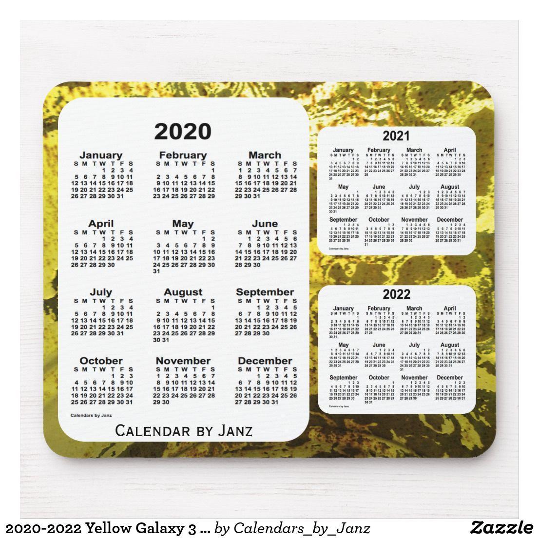 Printable 3 Year Il Caemdar 2020-2022 | Example Calendar ...