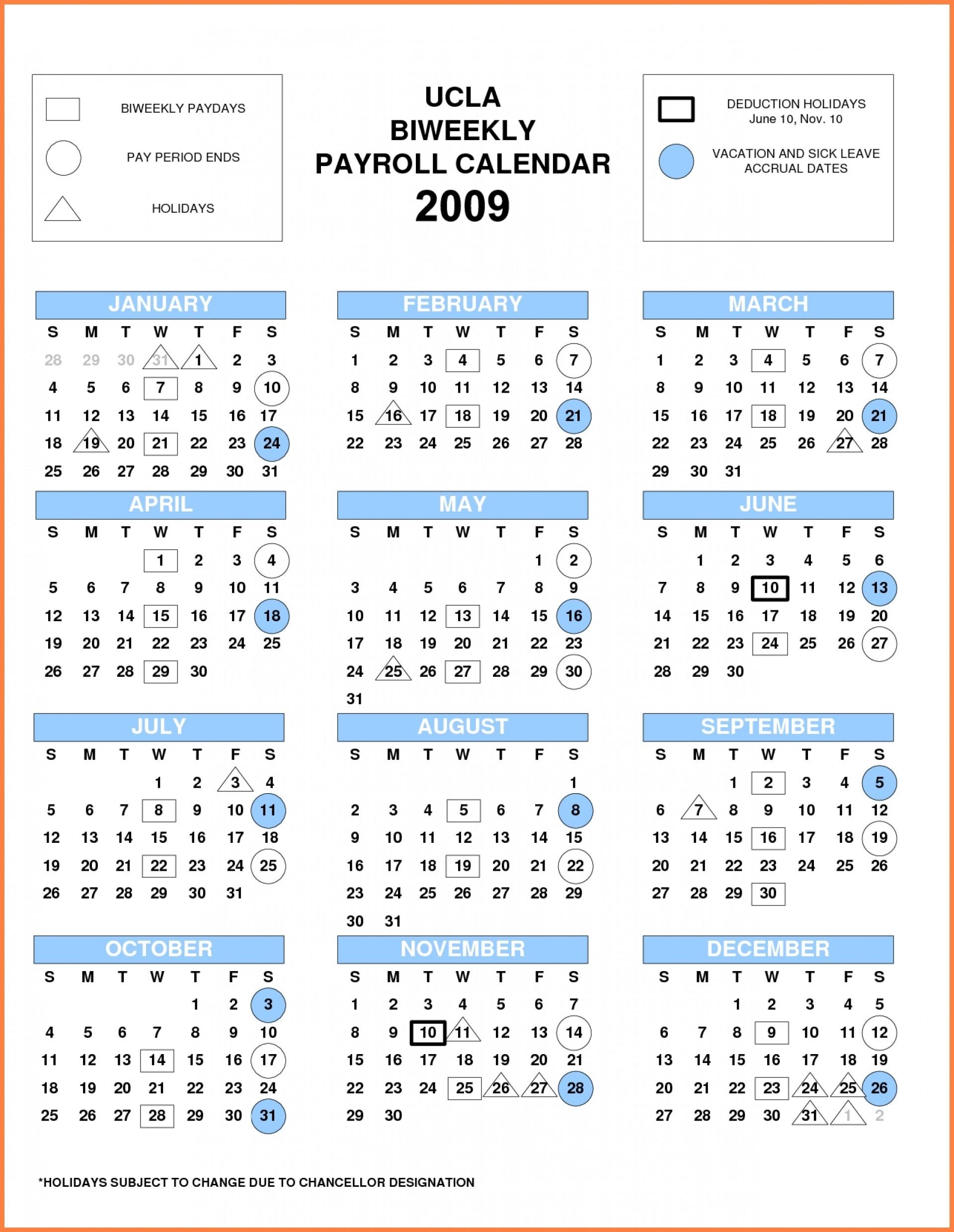 2020 Biweekly Payroll Calendar Printable | Payroll Calendar 2020