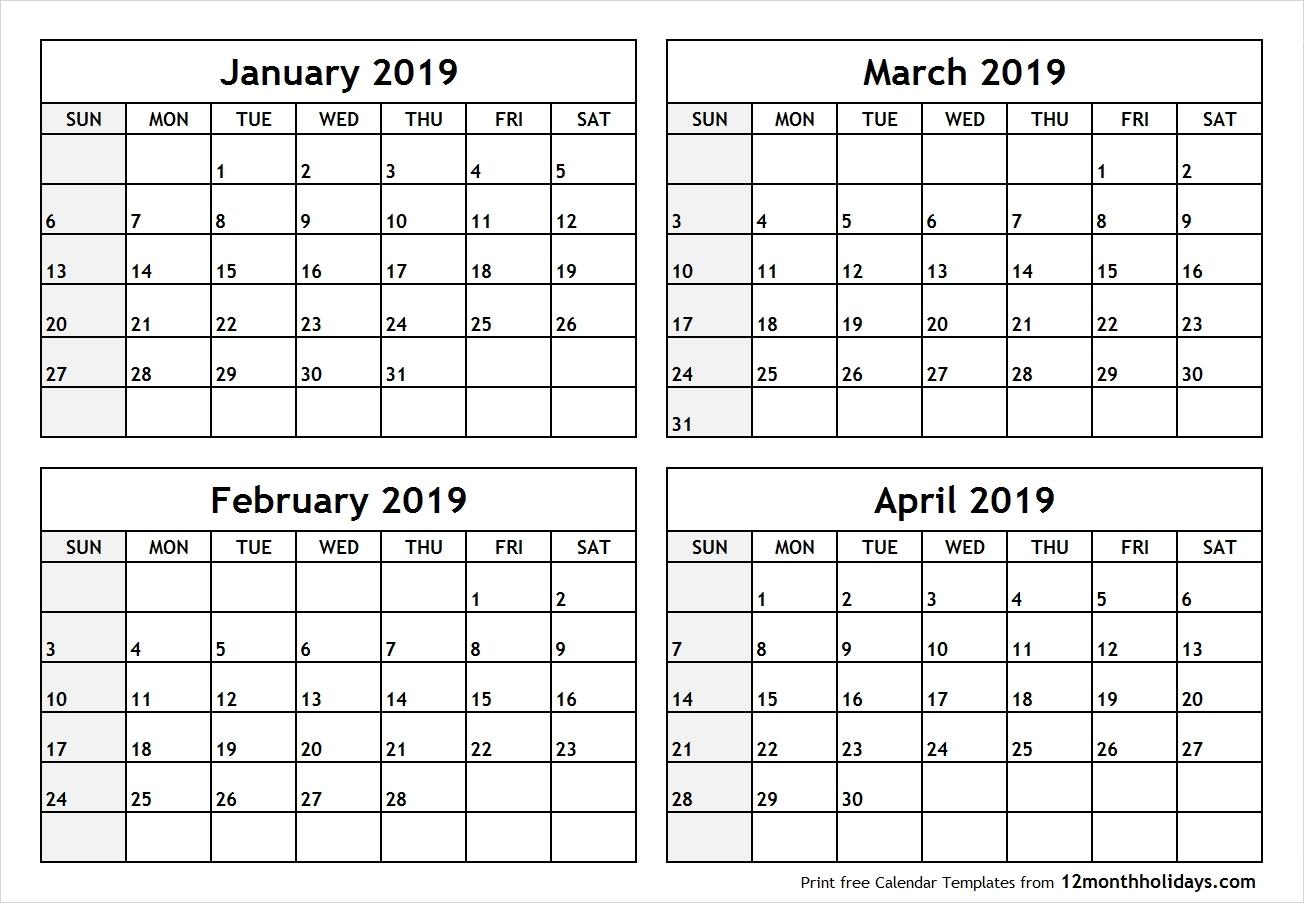 2020 Calendar 2 Months Per Page | Get Your Calendar Example