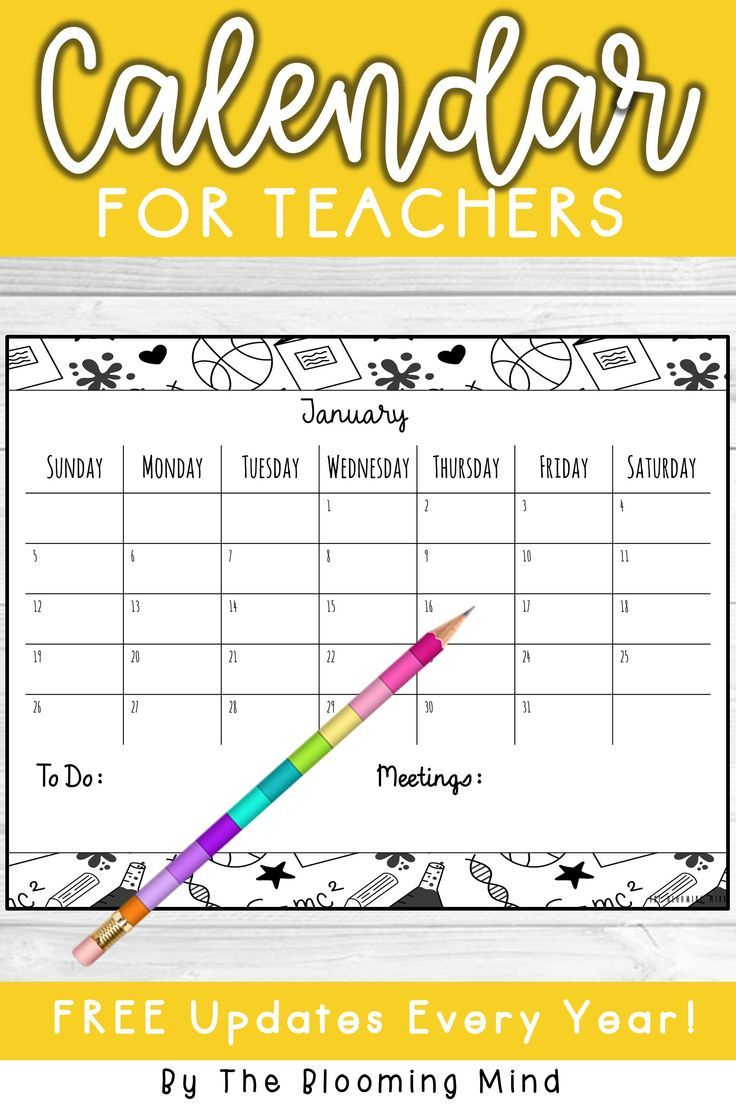 2020 Calendar | Teacher Binder, Classroom Organization