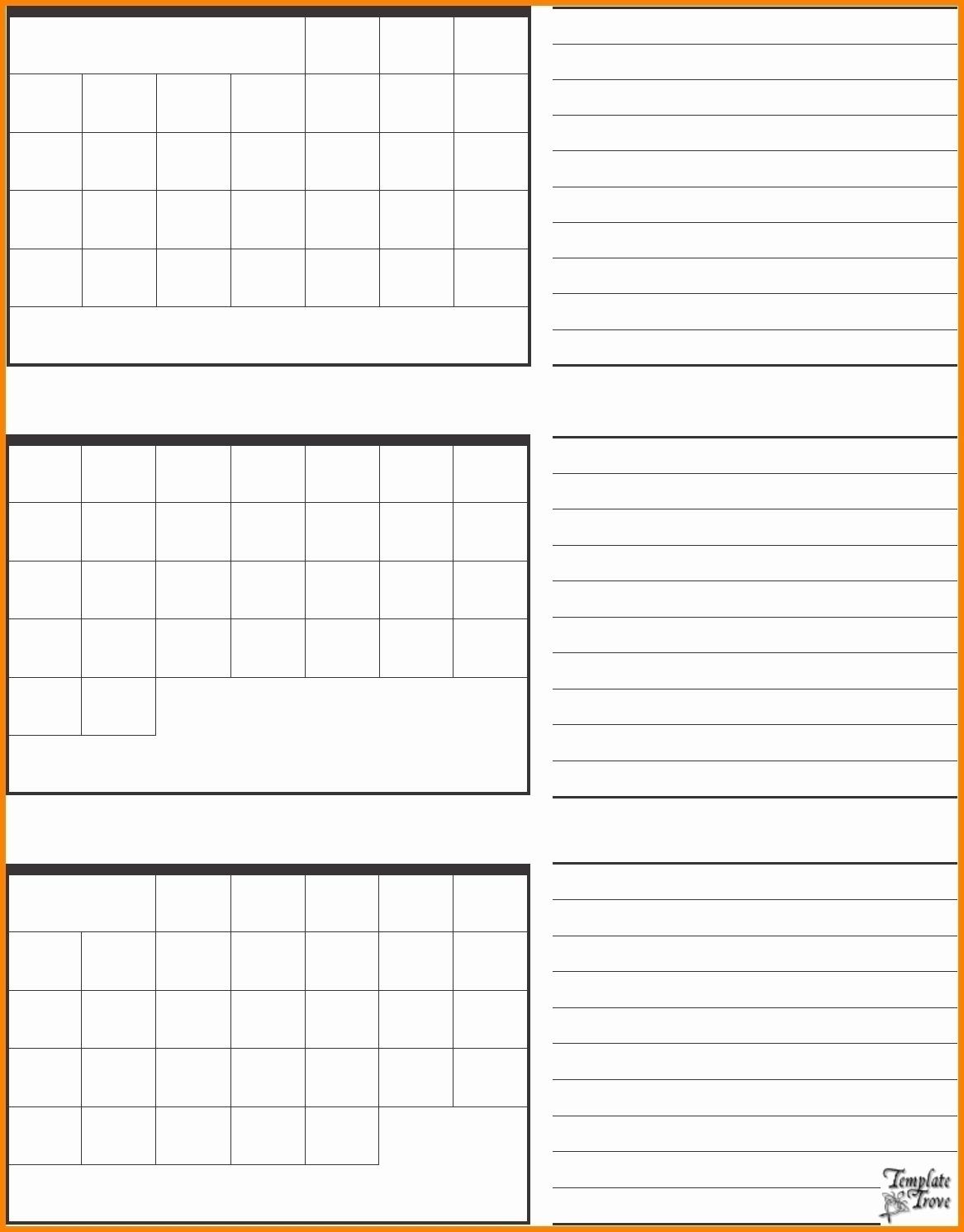 3 Month Blank Printable Calendar | Example Calendar