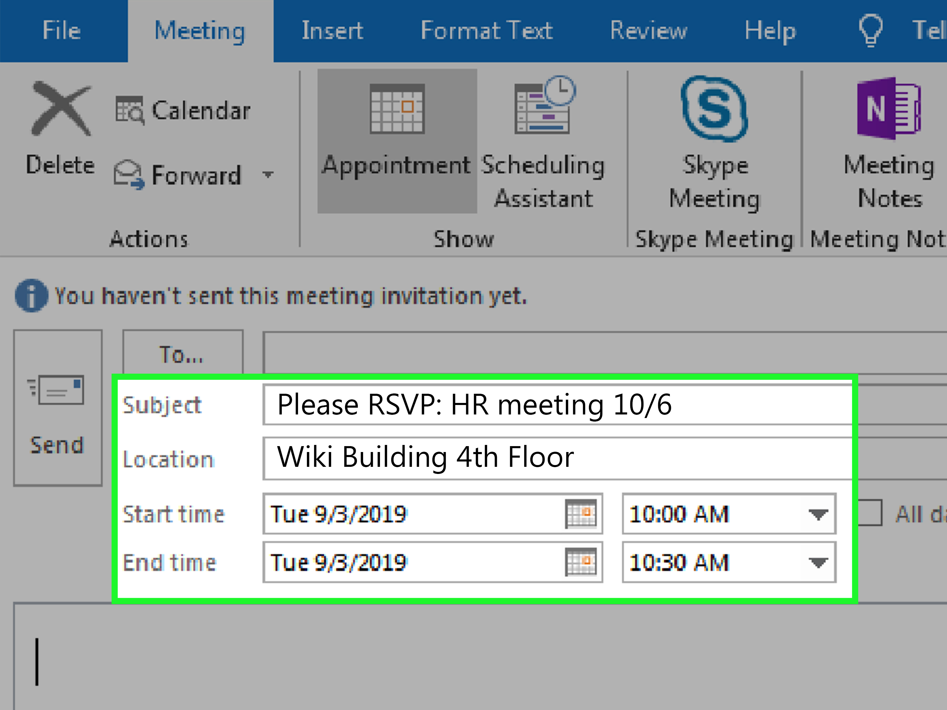 3 Ways To Write An Email For A Meeting Invitation - Wikihow