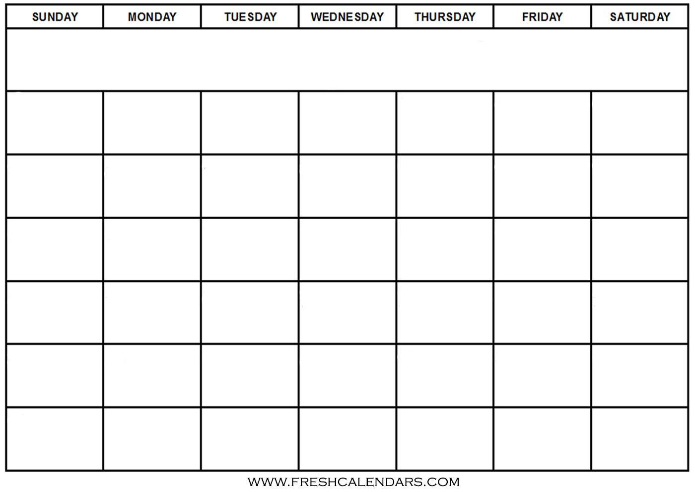 30 Print Free Calendar Template | Andaluzseattle Template