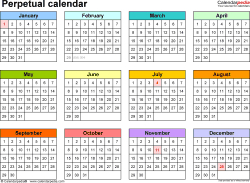 5 Year Calendar Planner - Tunu.redmini.co