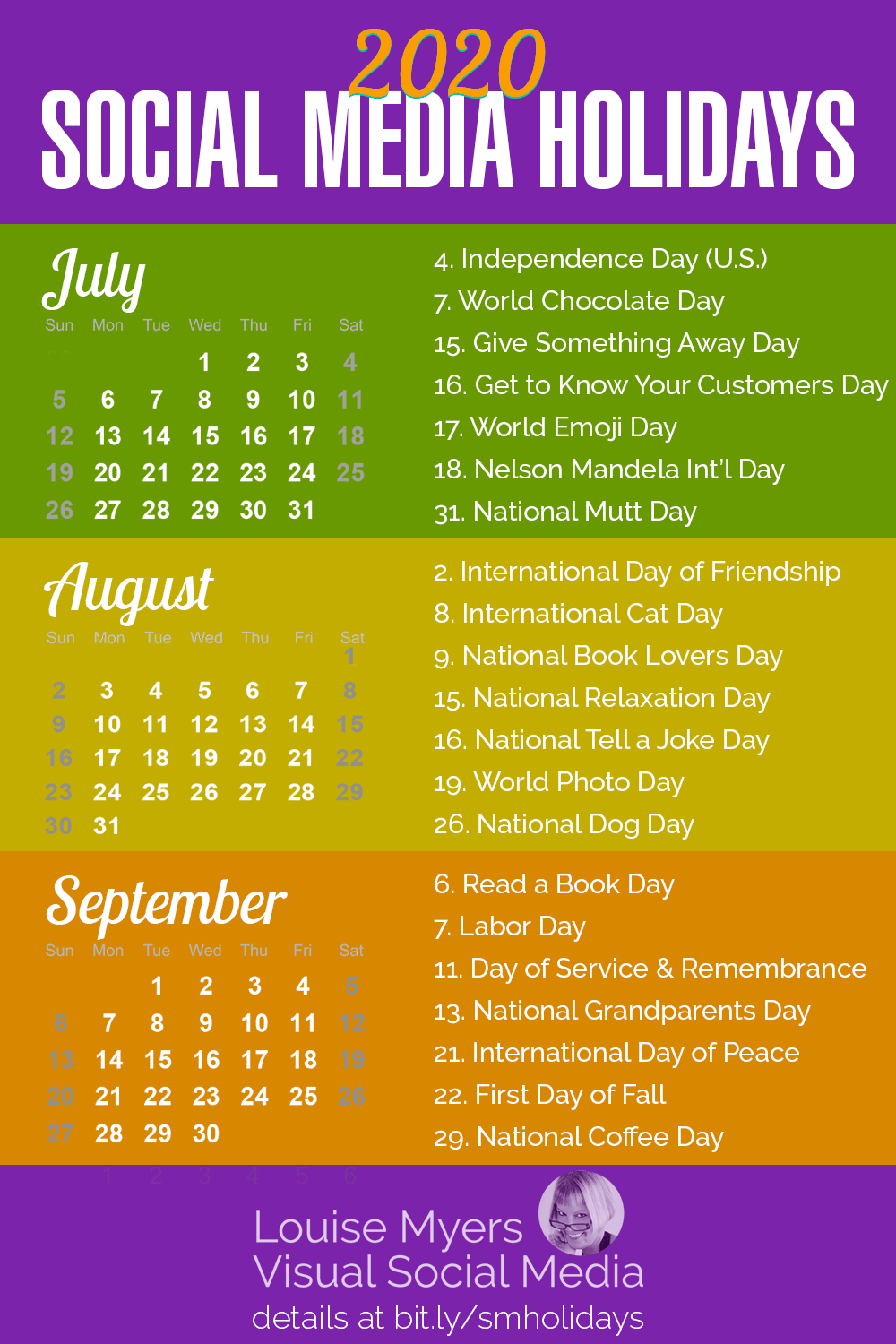 84 Social Media Holidays You Need In 2020: Indispensable!