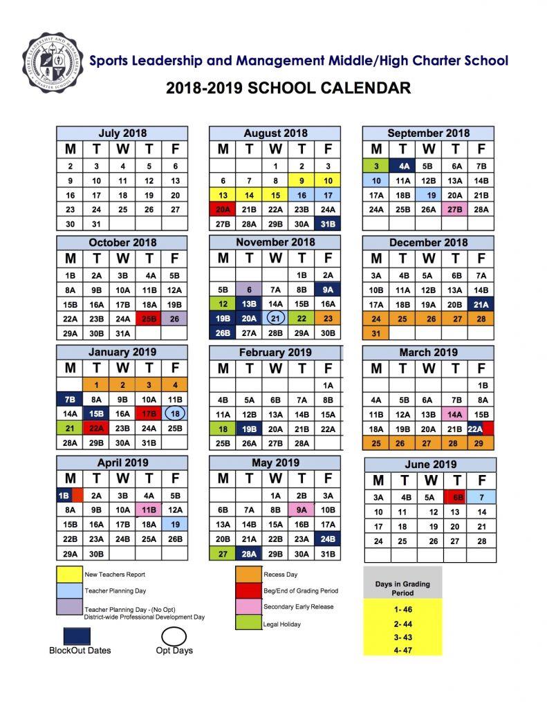 Awesome 47 Examples Miami Dade School Calendar 2019 2020