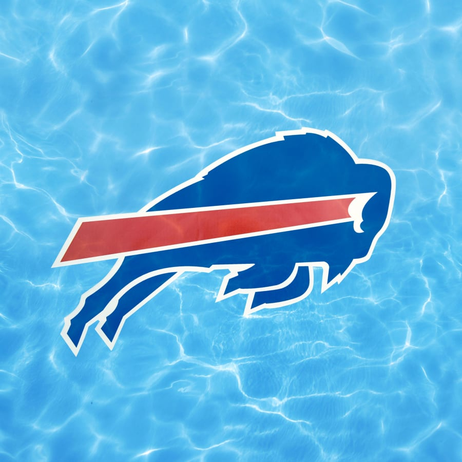 Buffalo Bills: Logo - Giant Officially Licensed Pool Graphic