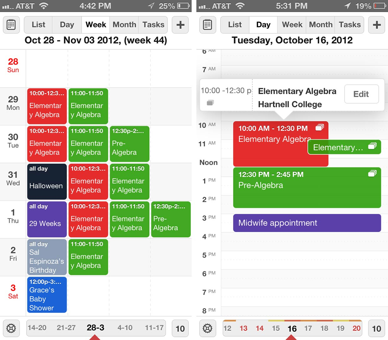 Calendarsreaddle For Iphone And Ipad Review | Imore