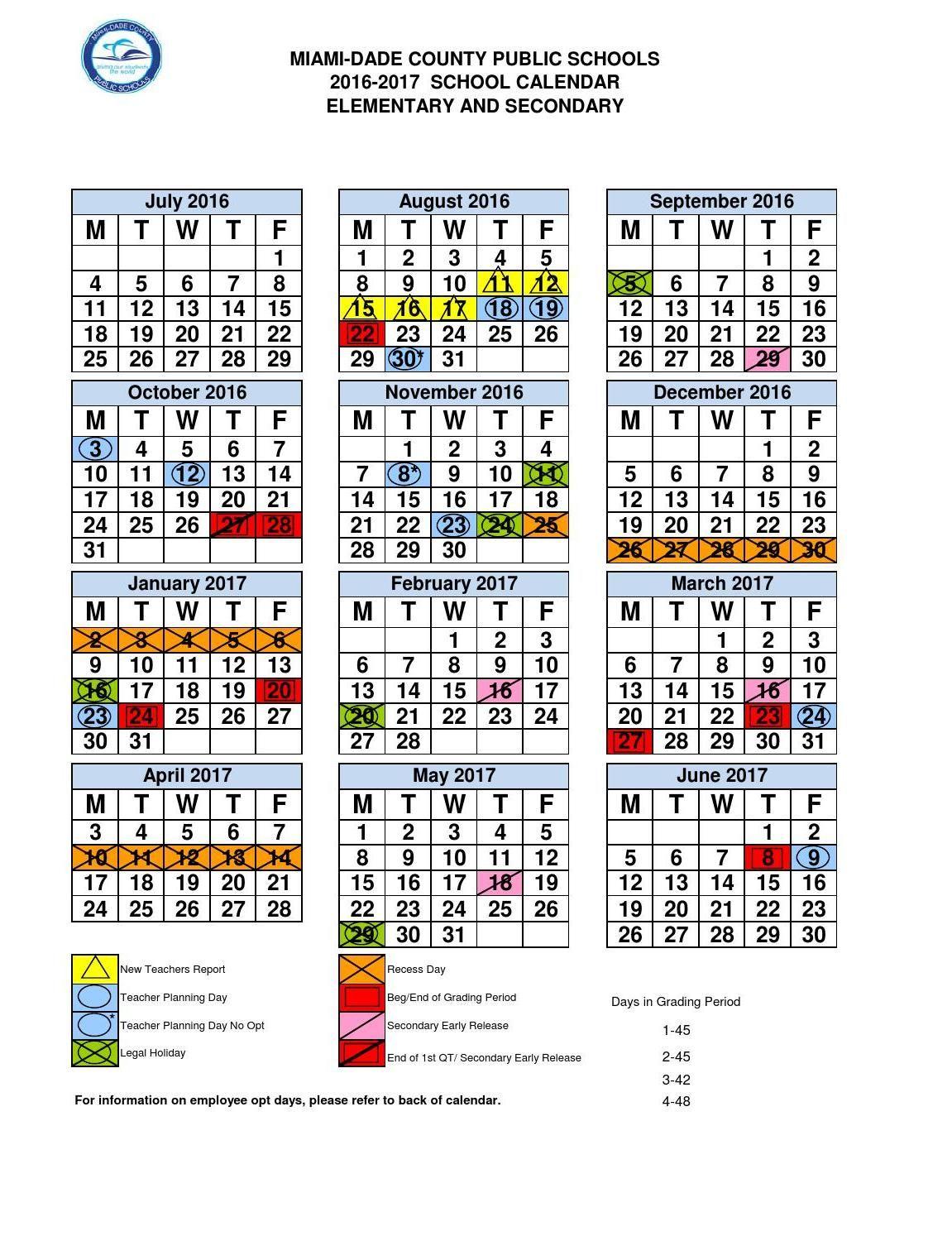 Clippedonissuu From Mdc School Calendar 2016-17 | School