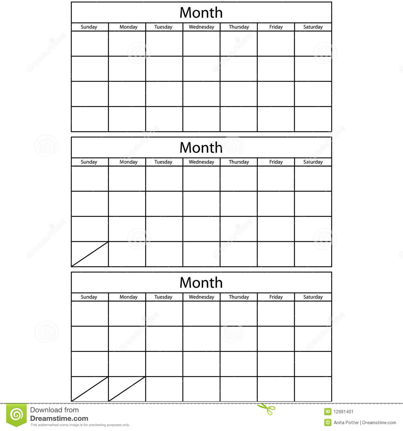 Crush 3 Month Printable Calendars | Kenzi's Blog