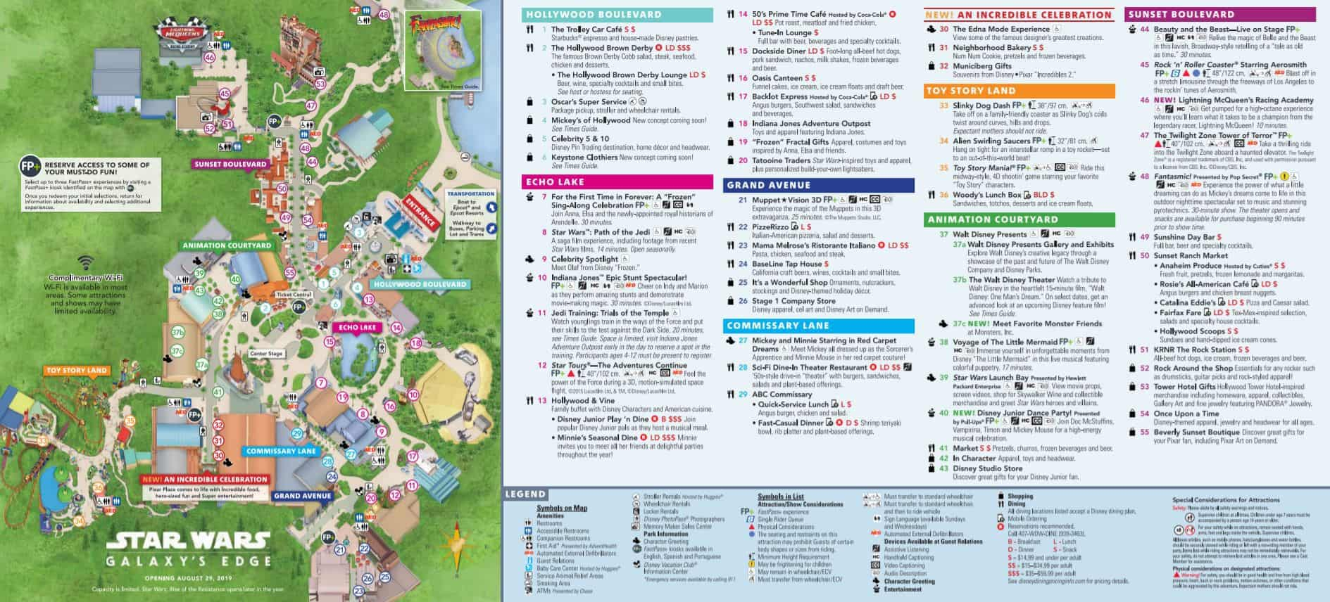 Disney World Maps - Download For The Parks, Resorts, Parties
