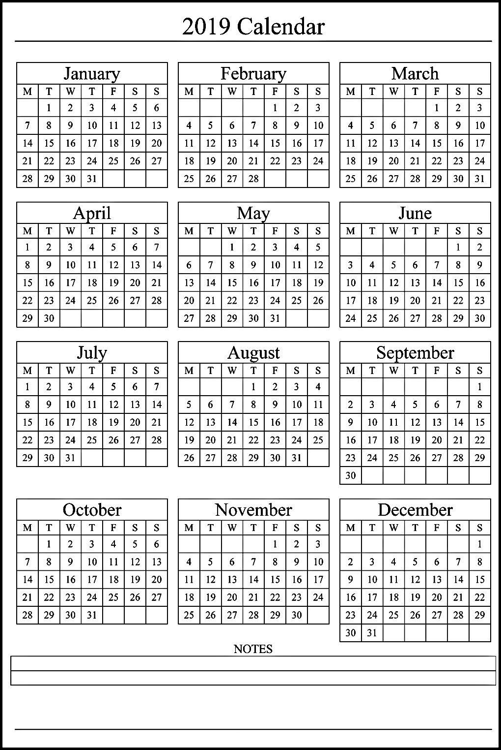 E1E Printable Calendar 6 Months Per Page C Template Calendar