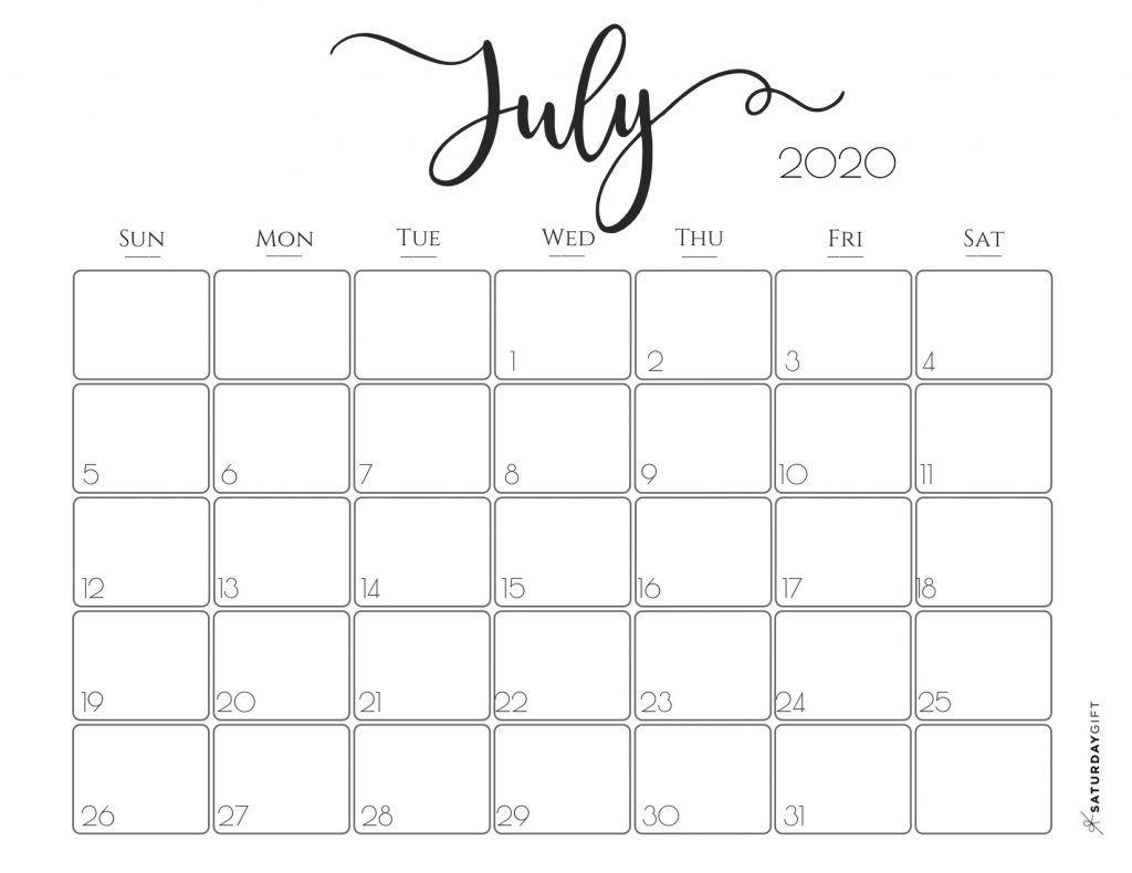Elegant 2020 Calendar {Free Printables} | Calendar, Free