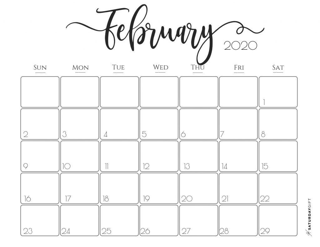 Elegant 2020 Calendar {Free Printables} | January Calendar