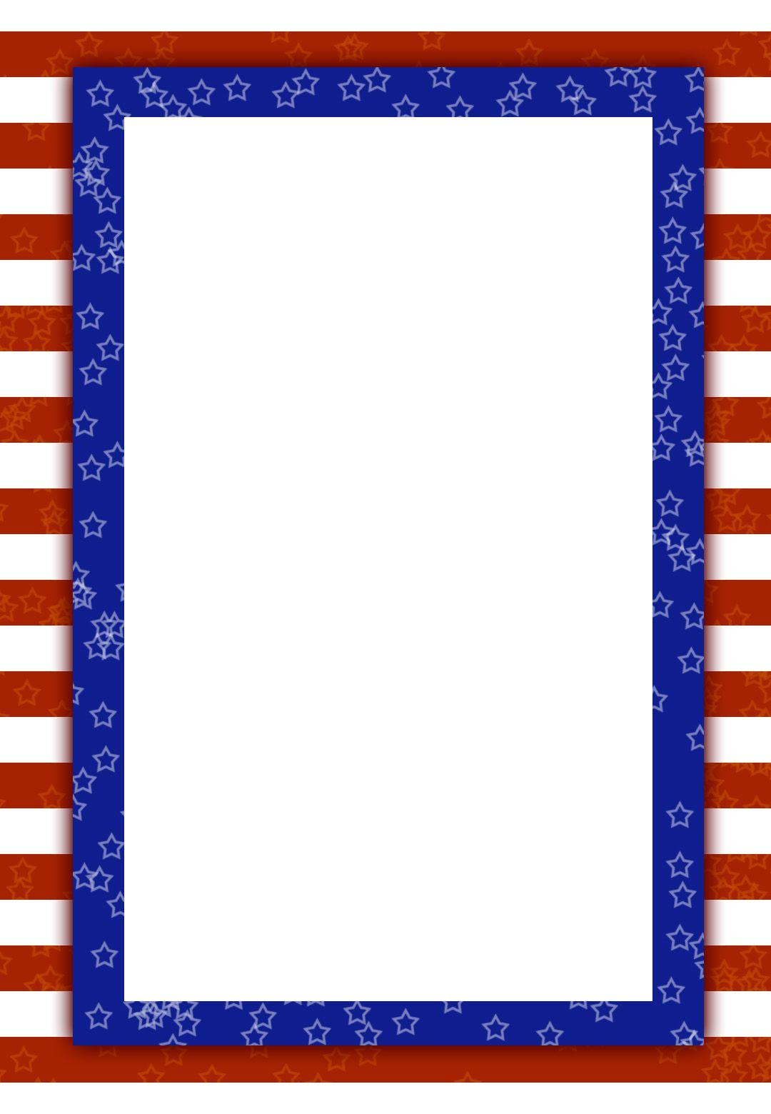 Free Printable Patriotic Invitation | Printable Birthday