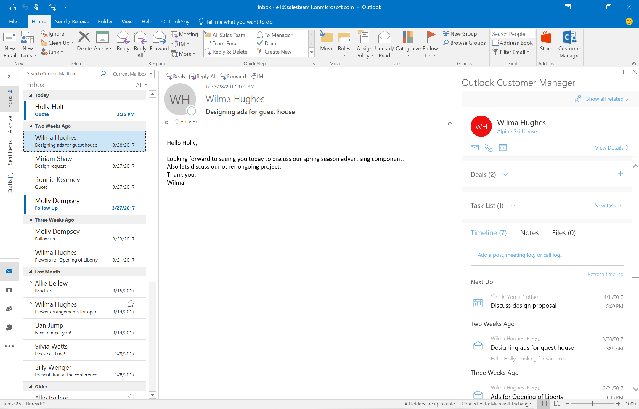 Get Started With Outlook Customer Manager - Office Support