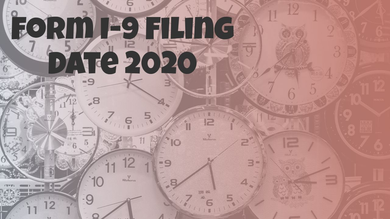 I9 Forms 2020 Printable
