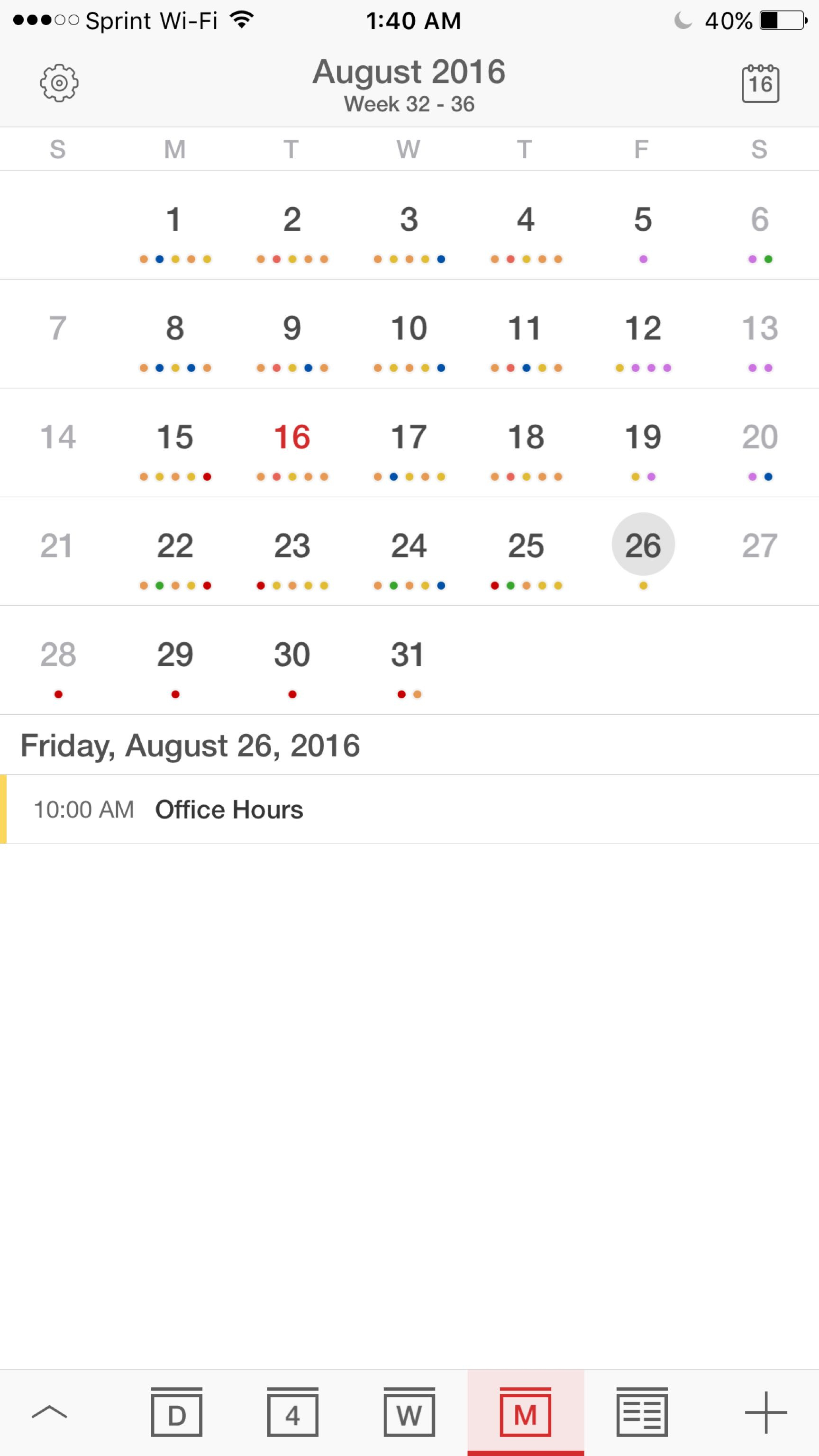 I'm Ok With The Iphone Calendar App, But Is There A Way To