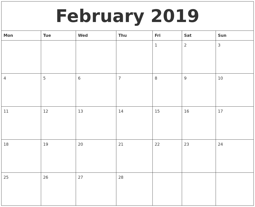 January 2020 Calendars The Calendar Spot - Colona.rsd7