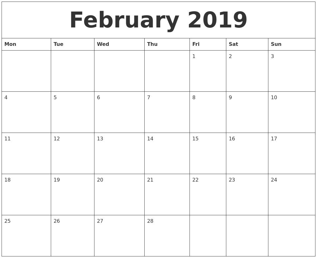January 2020 Calendars The Calendar Spot - Colona.rsd7