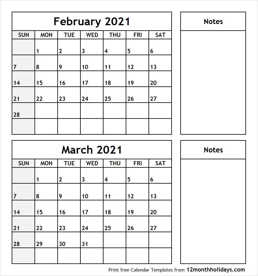 January February March Calendar 2020 - Colona.rsd7