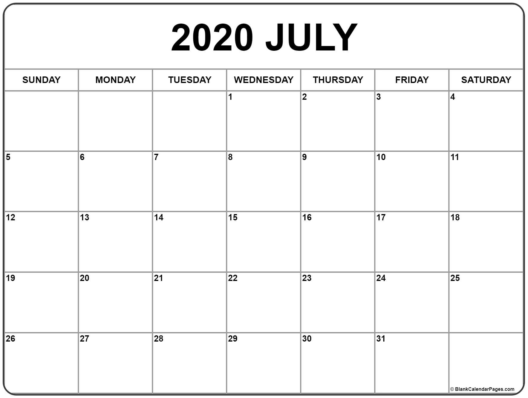 July #2020 #calendar | Printable Calendar Template, November