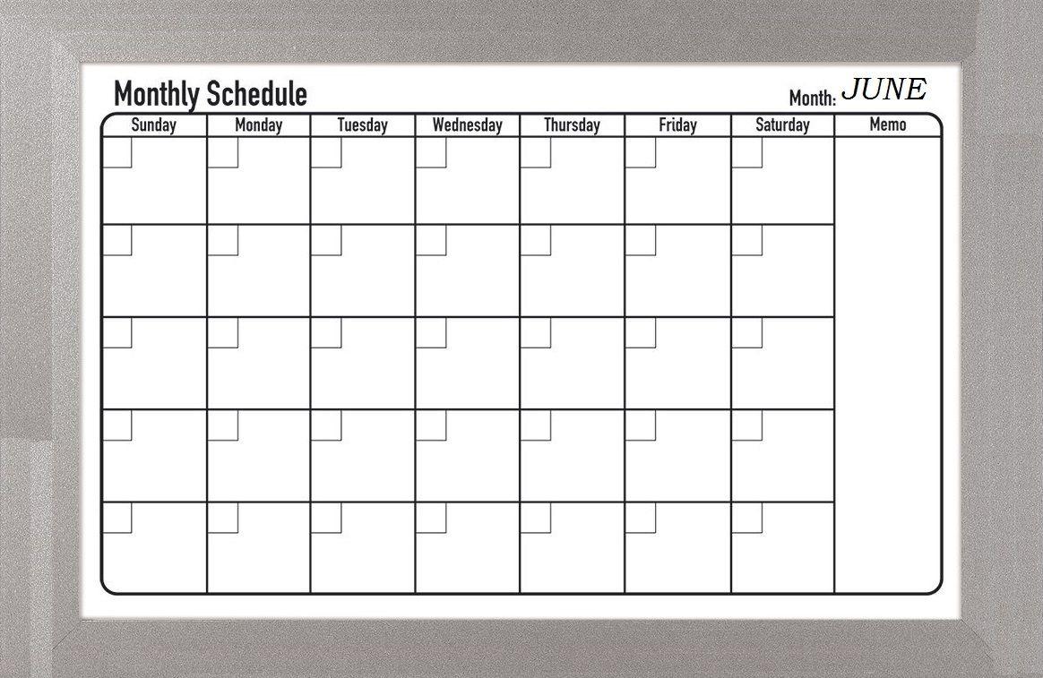 June 2019 Schedule Planner   Calendar June, June 2019