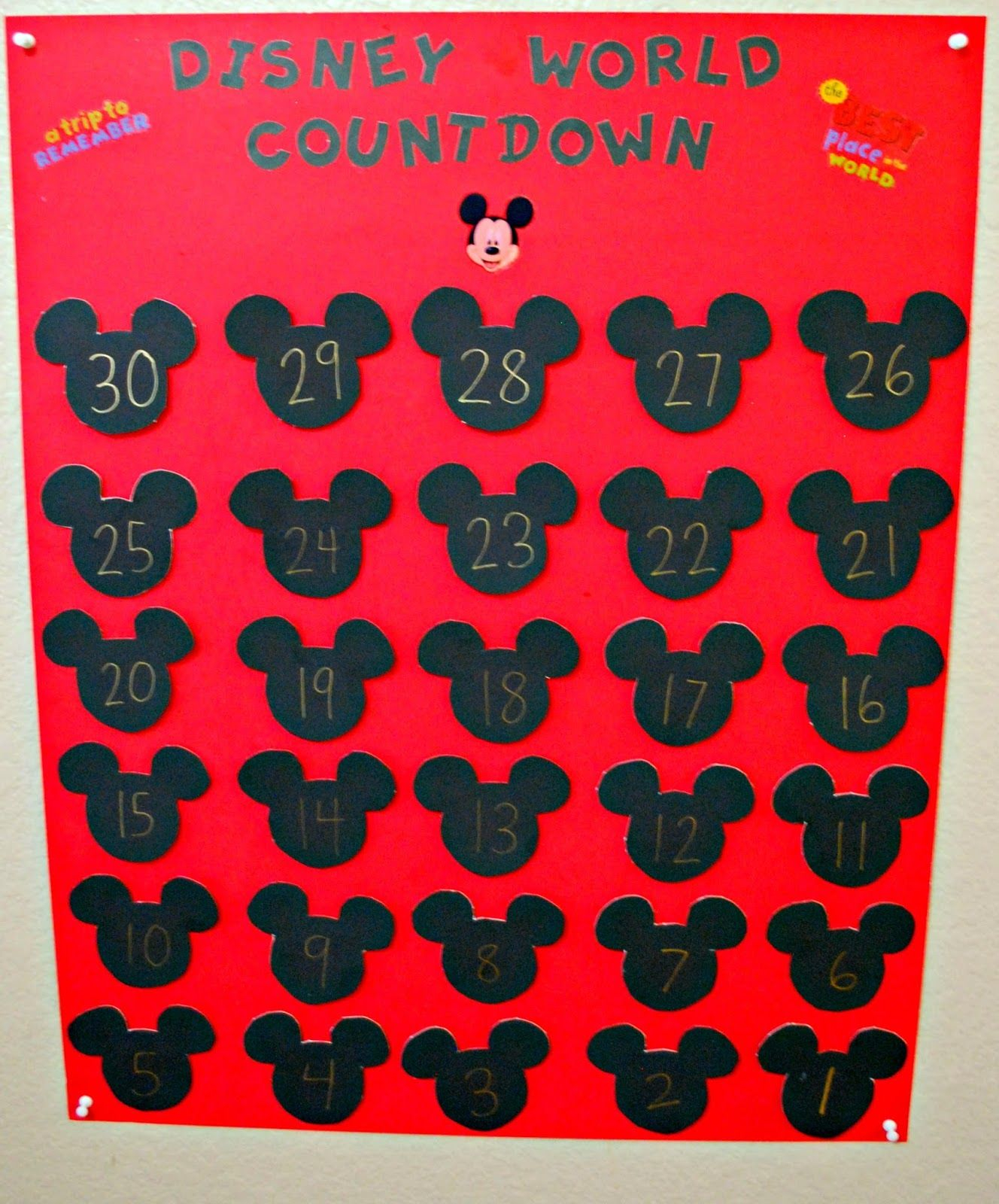 Kid Friendly: 12 Fun Ways To Countdown To Disney | Disney