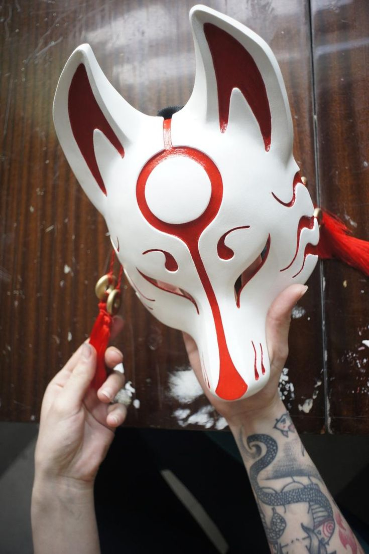 Kitsune Mask. Japan Mask. Fox Mask. Japanese Mask. Animal