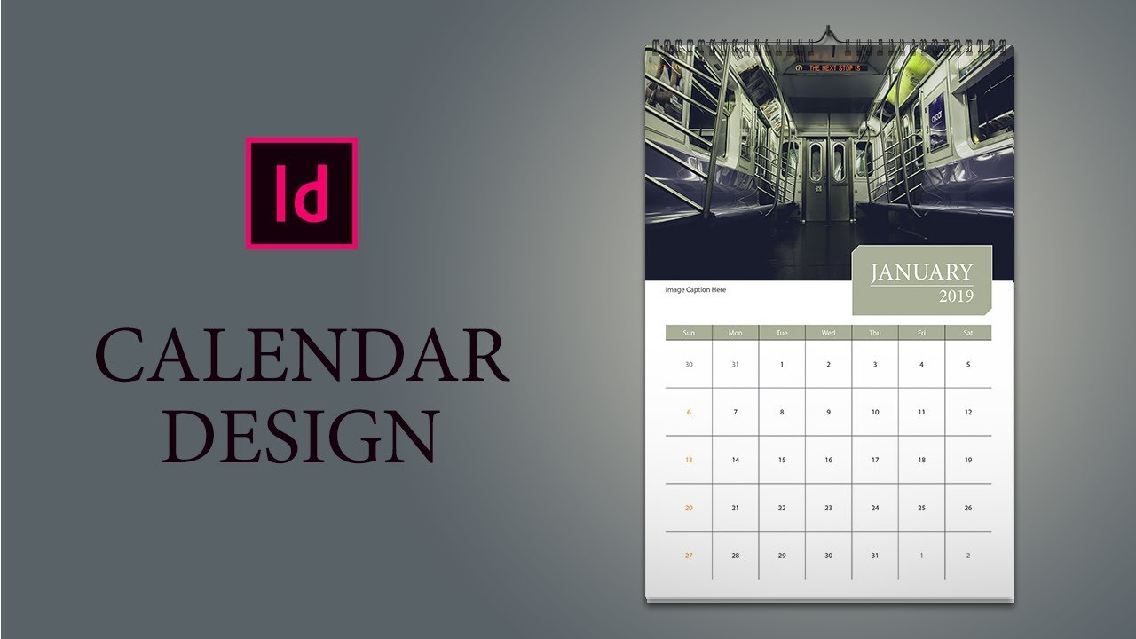 Only 16 Minutes: How To Design Calendar In Indesign