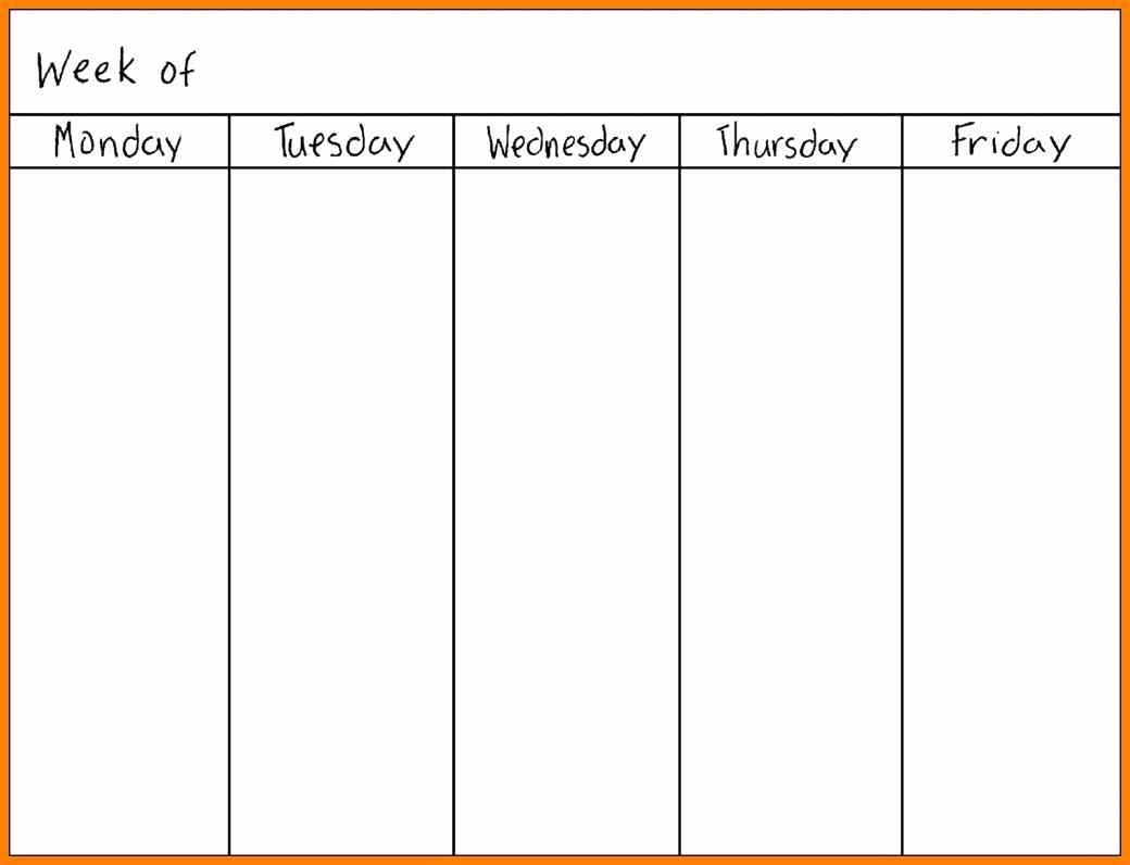 Printable Calendar Monday Through Sunday | Printable-Monday
