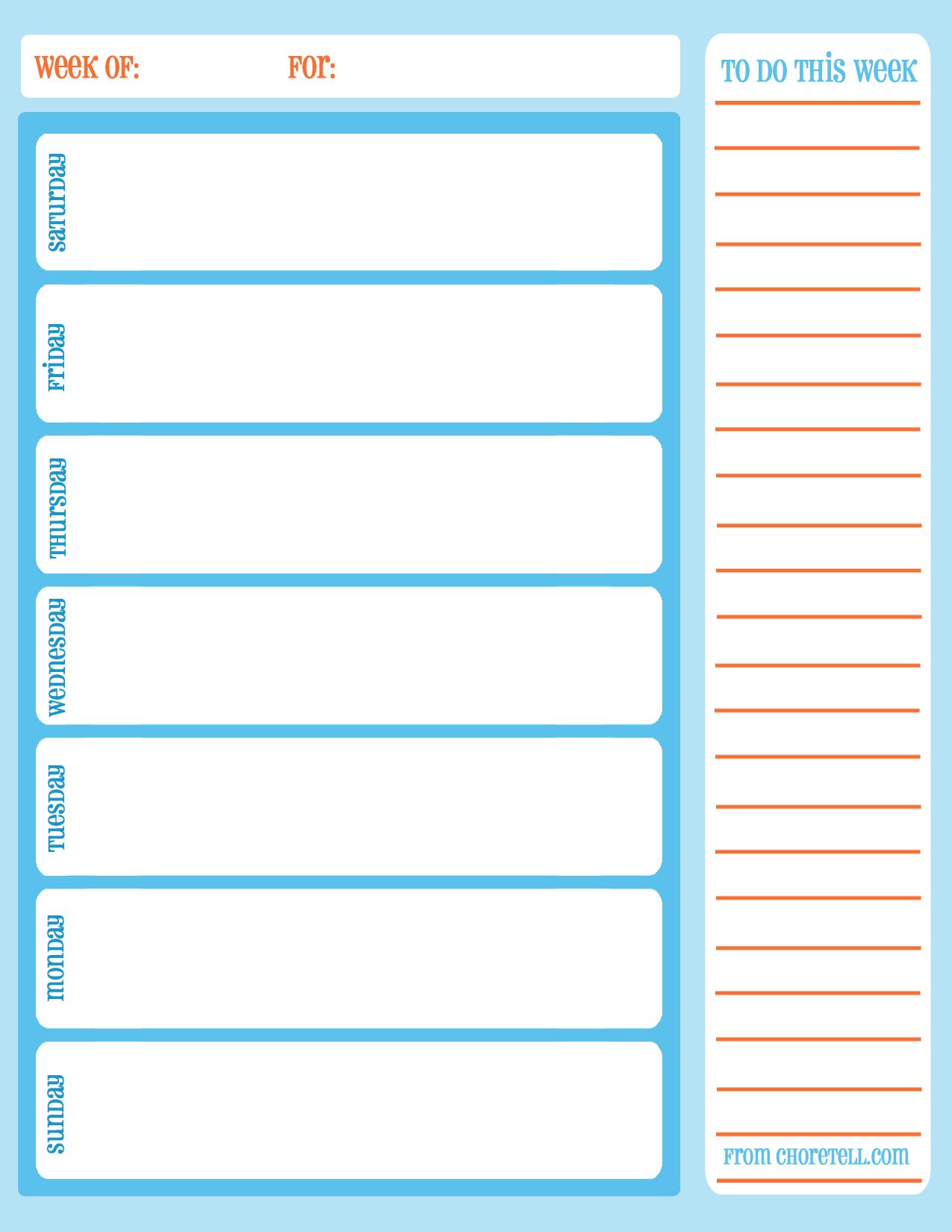Printable Task Calendar - Colona.rsd7