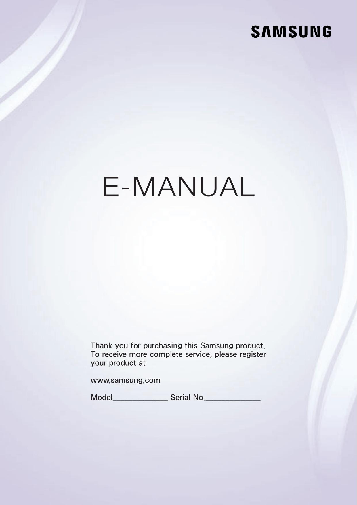 Samsung Un40J5290Af Manual De Usuario | Manualzz