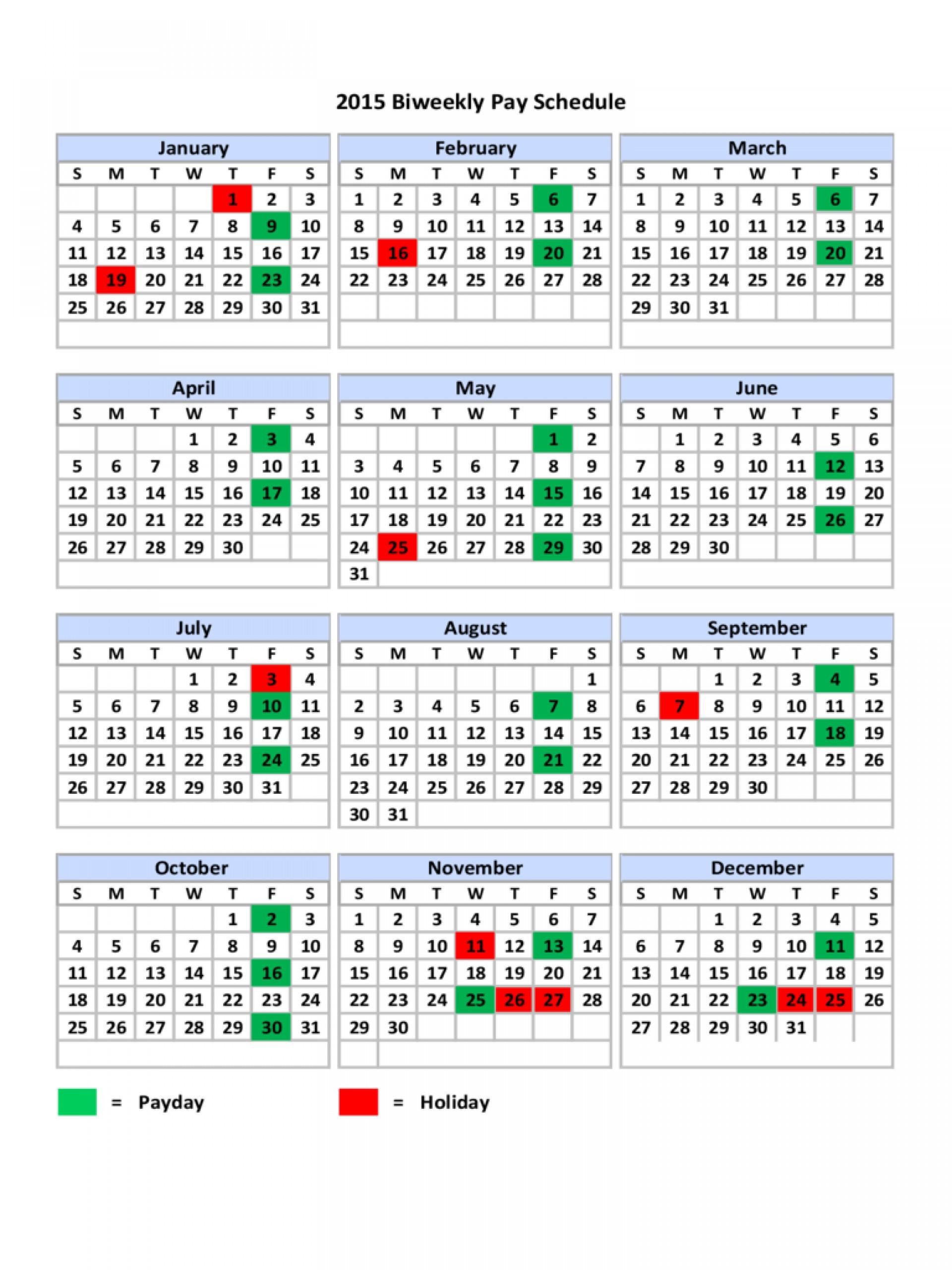 Top Biweekly Pay Schedule Template Ideas Payroll Calendar
