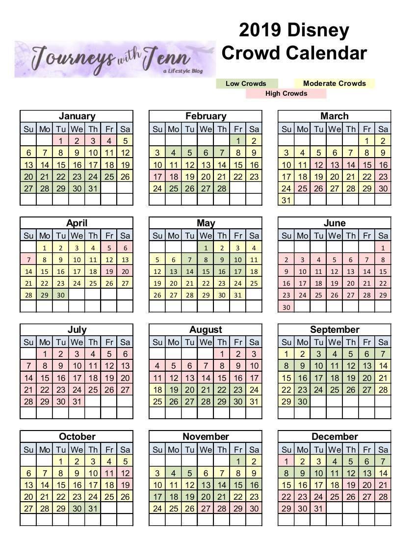 Walt Disney World Crowd Calendar: Plan For The Best Week To