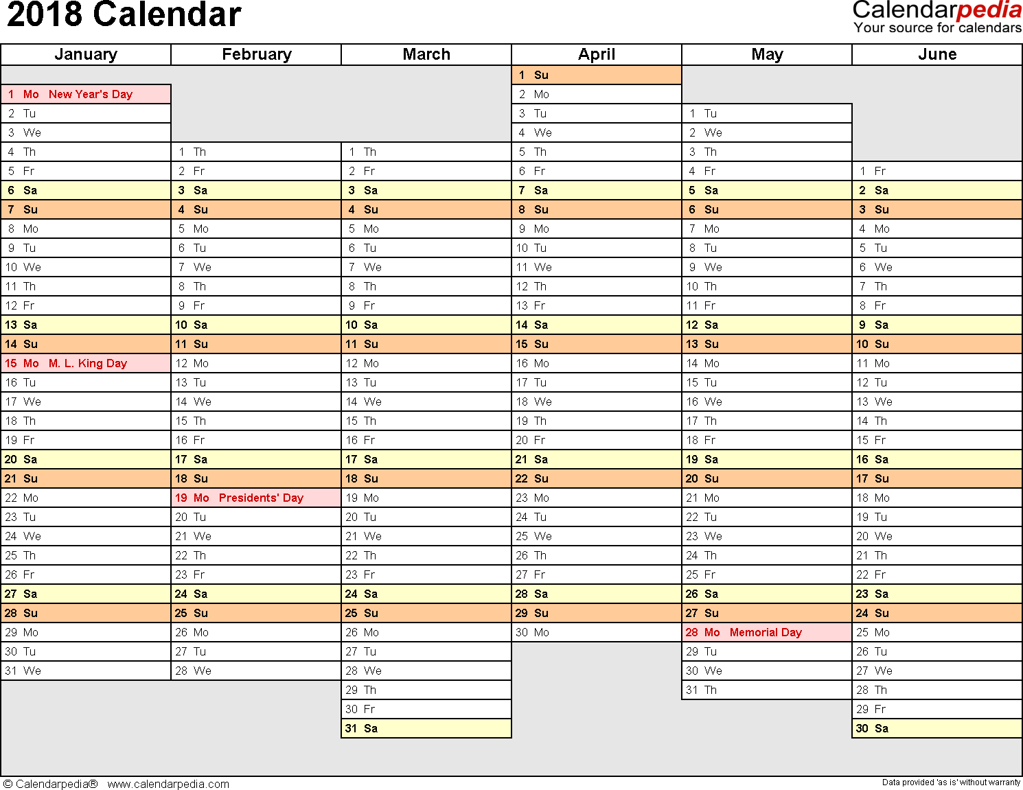 Yearly Planner Calendar - Colona.rsd7