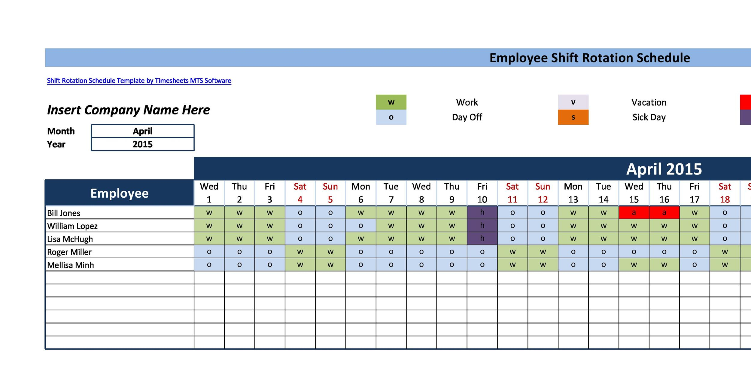 14 Dupont Shift Schedule Templats For Any Company [Free] ᐅ