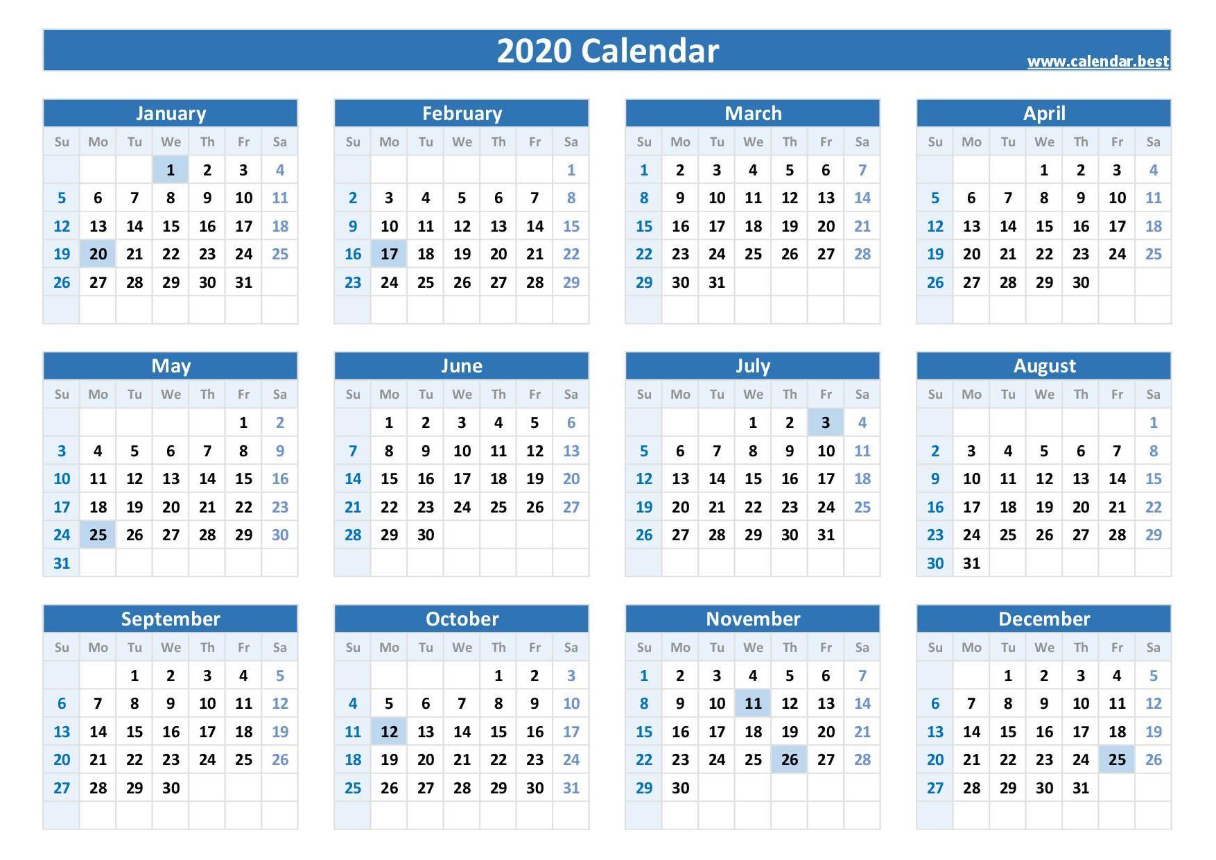 2020, 2021, 2022, 2023 Federal Holidays : List And Calendars