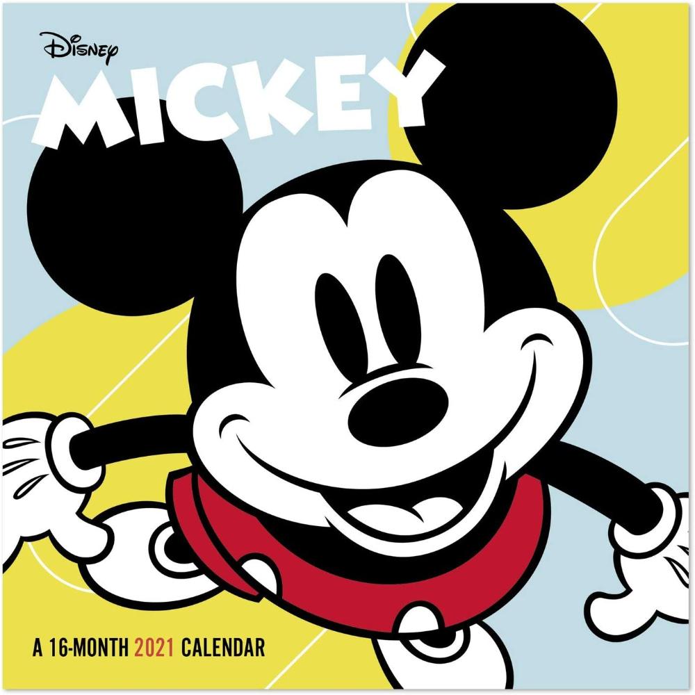 "2021 Disney Mickey Mouse Mini Wall Calendar, 7"" X 7"